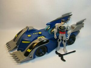 "Batman the Brave & the Bold 13"" long Battle Armor Batmobile vehicle 2009 Mattel"
