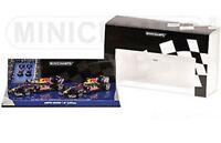 MINICHAMPS 091415 RED BULL RENAULT RB5 F1 diecast 2 car set Vettel Webber 1:43rd