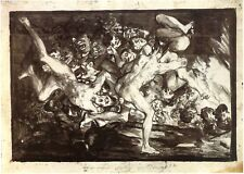 Goya Drawings: The Road to Hell - Fine Art Print