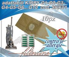 10 SACCHETTI + 10 PROFUMINI  IN CARTA ADATTABILI KIRBY G1-G2-G3-G4-G5-G6...G10