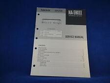 Nikko NA-590II Amplifier Service Manual