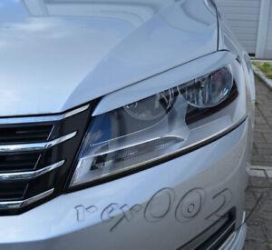 Fits VW Passat B7 - Eye Brows Head Light Cover Set