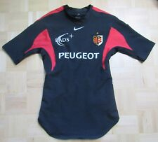 58e65a24c13 Stade Toulousain RUGBY Toulouse Player Issue shirt jersey NIKE adult SIZE M