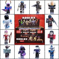 Roblox Series 7 NEW! Mystery Box BLACK Cubes Kids Toys Figures Pack+Unused Codes
