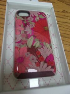 VERA BRADLEY Bohemian Blooms Pattern iPhone 7 Hybrid Phone Case New in Box