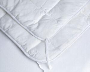 Merino Wool Duvet Quilt  Single Double King Super King Size Bed White Medium