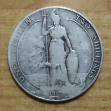 More details for 1905 edward vii florin. great britain silver coin. key date.