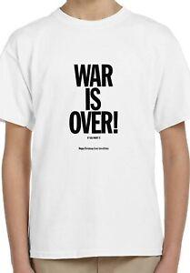 John Lennon Happy Xmas War Is Over Kids Unisex Top Birthday Gift T-Shirt 65