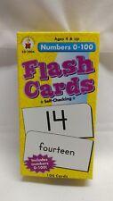 flash cards mumbers 0-100 cd-3904 new unused