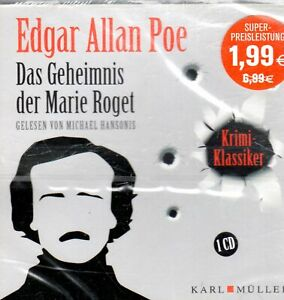 EDGAR ALLAN POE - 2 Hörspiele auf 2 CDs -- NAGELNEU!!!    .....A8