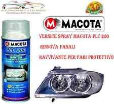 SPRAY PROTETTIVO FARI TRASPARENTE ANTIGRAFFIO MACOTA PLC 200 - 400 ml Tuning