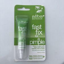 Alba Botanica Fast Fix For A Pimple 0.25 oz Hypo-Allergenic Acne Treatment