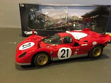 Mattel Ferrari 512S 1970 Sebring Andretti 1/18