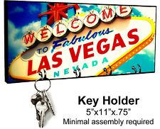 KEY HANGER HOLDER RACK - LAS VEGAS #SN1 Casino Gambling Nevada Sin City Strip