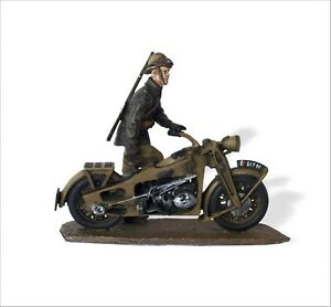 Triciclo Editores 1:32 WWII motorcycle Gnome & Rhone AX2 French Mech Inf SMI0034
