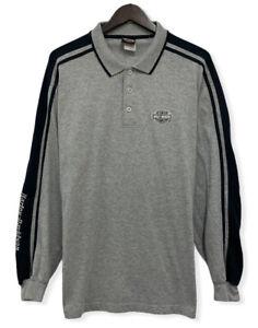 Harley Davidson Fort Lauderdale, FL Men's XXL Collared Pullover Polo Sweatshirt