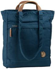 Fjallraven Unisex Tote Pack No.1 Carry Bag Backpack Handbag Outdoor Navy Blue