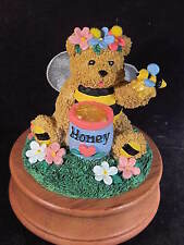Roman 1996 Bumble Bears Musical Teddy Bear'S Picnic Bumble Bee New Old Stock