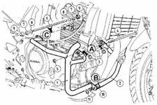 Honda CBF500 (2004-2007) Engine Guard - Black BY HEPCO AND BECKER