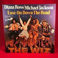 "MICHAEL JACKSON & DIANA ROSS Ease On Down The Road 1984 UK 12"" vinyl single EXC"