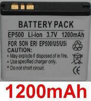 Batería 1200mAh BGS010899 EP500 Para Sony Ericsson Xperia X8