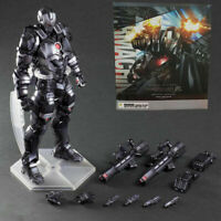 """10"""" Avengers War Machine Action Figure Play Arts Kai Collection Toy Gift New"""