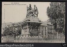 1408.-GRANADA -187 Monumento a Colón del Paseo Salón