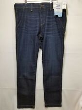 NEW Men's Hollister by Abercrombie & Fitch Skinny Jeans Flex Dark Wash Trouser