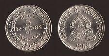 HONDURAS 5 CENTAVOS 1980 FDC/UNC FIOR DI CONIO
