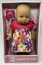 """Circo Sweet and New Doll 14"""" with pacifier New in box Ages 2+"""