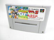 DRAGON BALL Z Goku Totsugeki Super Famicom Nintendo Free Shipping Hit-Japan sfc