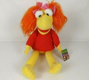 Fraggle Rock Red Plush 36 cm Sitting Huge 23 in 58 cm Tall New Jim Henson's