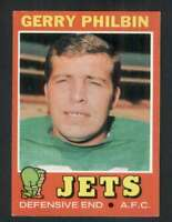 1971 Topps #98 Gerry Philbin NM/NM+ NY Jets 66168