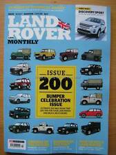 Land Rover Monthly February 2015 Discovery Sport Defender V8 Series IIA diesels