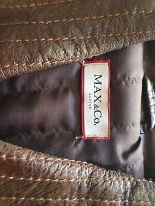 Max co Leather Vest