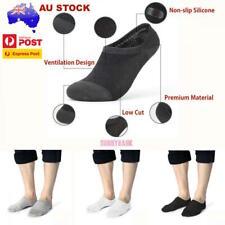 3/ 6/ 12Prs | Invisible Low Cut Bamboo Men Women Socks No-Slip Heel Grip No Show