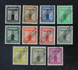 CKStamps: Austria Stamps Collection Mint H OG 1 Thin