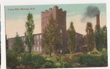 Canada, Cotton Mill, Moncton N.B. Postcard, B122