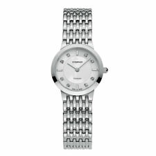 Women's Diamond Swiss Made Watch With Sapphire Glass 25MM Conrad
