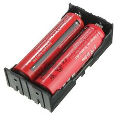2-Slot Storage Box Holder For 2x Li-ion Lithium 18650 3.7V Battery With Pin 1pcs