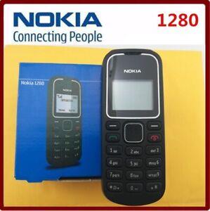 Original NOKIA 1280 BLACK  Cellular Phone GSM Unlocked GSM Multilingual keyboard