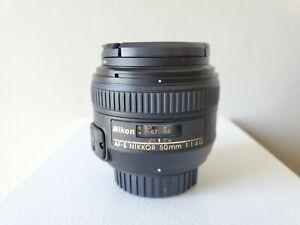 Nikon AF-S FX NIKKOR 50mm F/1.4G Standard Lens - Manual Only READ PLEASE