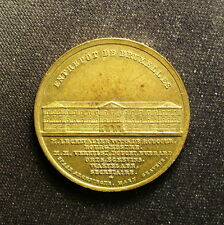 Belgium 1844 Inauguration of Brussel's Warehouse Medal