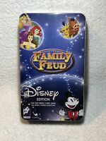 Family Feud Disney Edition Game Cardinal Mint Tin Storage Container New Sealed