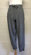 Women's Gap Gray Cotton Blend Capri Lounge Sweat Pants, Size Large L