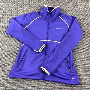 Columbia Omni-Wick Advance Evaporation Zip Front Zip Pockets Size Large Jacket