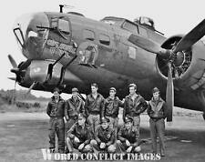 USAAF WW2 B-17 Bomber Outhouse Mouse Crew 8x10 Nose Art Photo 91st BG WWII