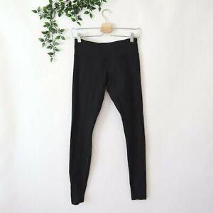 `Lululemon Women's Fitted Athletic Yoga Pants Size 6 Black