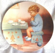 Bessie Pease Gutmann THANK YOU GOD 5th Magical Moments Series Curator Coll Plate