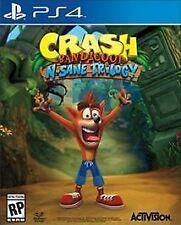 Crash Bandicoot: N. Sane Trilogy (Sony PlayStation 4, 2017)
